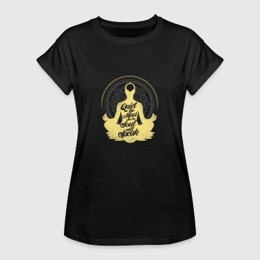Meditation mind and soul gift - Women's Oversize T-Shirt