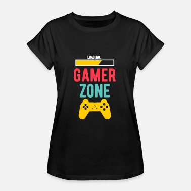 The Gameslave Gamer zone - Women's Oversize T-Shirt