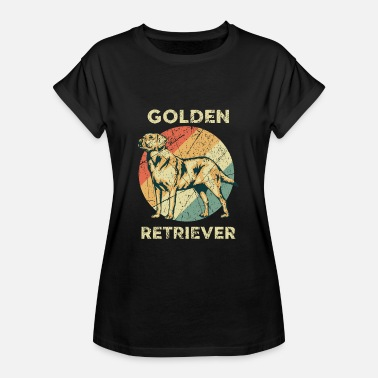 Golden Retriever Golden Retriever - Frauen Oversize T-Shirt