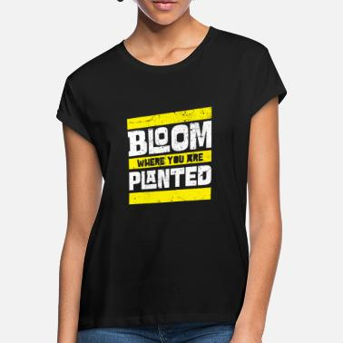 Bloom Bloom - Oversize T-skjorte for kvinner