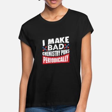 d3ceef3fa Elemento Químico Elemento químico - Camiseta holgada mujer