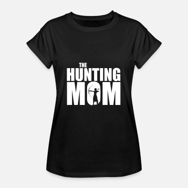 Hunting The Hunting Mother hunting hunting gift - Vrouwen oversize T-shirt
