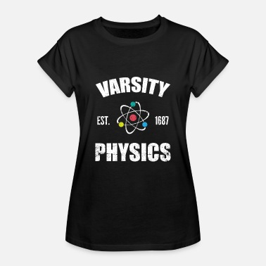 University University Physics - Oversize-T-shirt dam