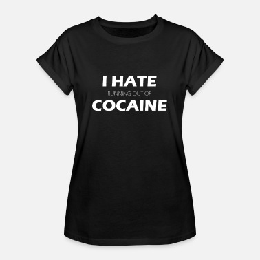 Techno Cocaine drug formula - Women's Oversize T-Shirt
