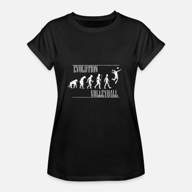 Evolution Volleyball Volleyball Evolution - Frauen Oversize T-Shirt