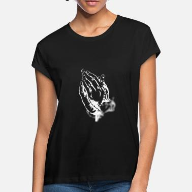 Praying Hands Praying Hands - Praying Hands - Women's Loose Fit T-Shirt