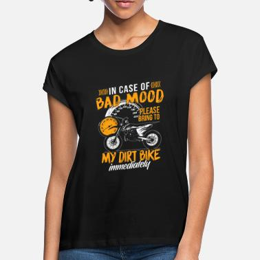 Road Bike Motocross enduro sport gift · whimsy - Women's Loose Fit T-Shirt