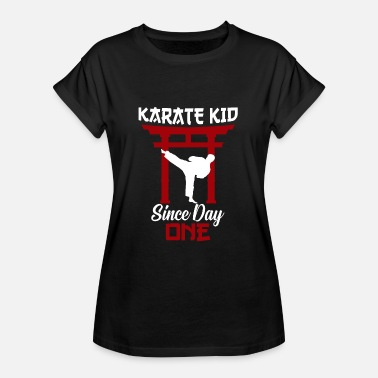Karate Kid Cadeau de Karaté Kid Fighter - T-shirt oversize Femme