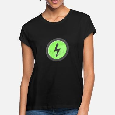 Voltage Green Shield High Voltage - Women's Loose Fit T-Shirt