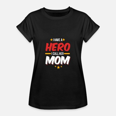 Supermama Supermama / Hero / Mutter / Geschenk - Frauen Oversize T-Shirt