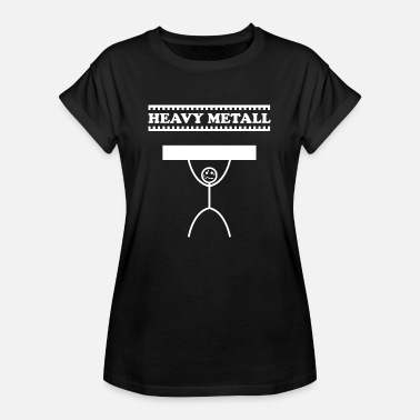 Heavy Heavy Metal / Heavy Metal / Heavy Metal - Vrouwen oversize T-shirt