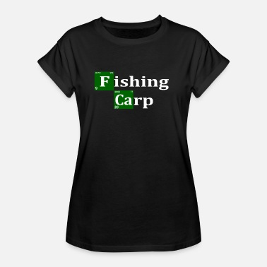 Carp Fish Fishing Carp for carp anglers - carp fishing - Women's Oversize T-Shirt
