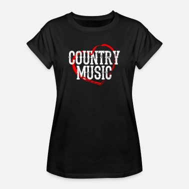 Musique Country Musique country - T-shirt oversize Femme