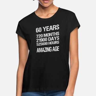 60 Years 60 YEARS - Women's Loose Fit T-Shirt