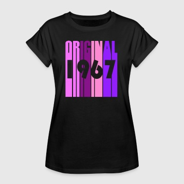 1967 birthday gift vintage - Women's Oversize T-Shirt
