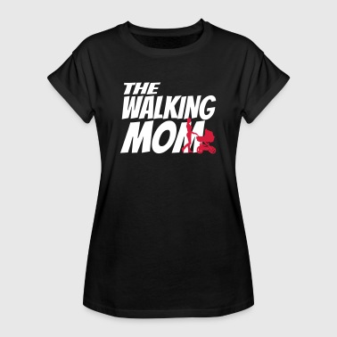 THE WALKING MOM - Vrouwen oversize T-shirt