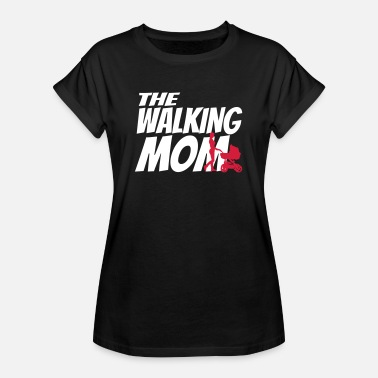 THE WALKING MOM - Dame oversize T-shirt