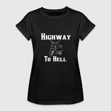 Highway To Hell Highway To Hell - Frauen Oversize T-Shirt