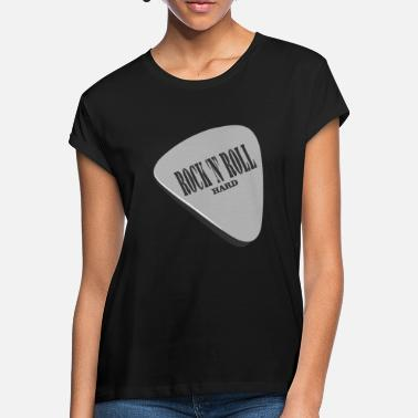 Rock N Roll Rock 'n' Roll Hard - Oversize T-skjorte for kvinner