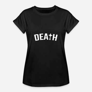 Anarcho-punk Punk Death Punker Rock Anarchy Anarcho Gift - Women's Oversize T-Shirt