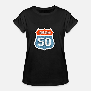 Occasion Born in 1950. Birthday occasion - Women's Oversize T-Shirt