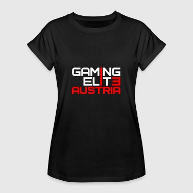 Gamer Online Gaming Elite Gamer Zocker Shirt Online Austria - Camiseta holgada de mujer