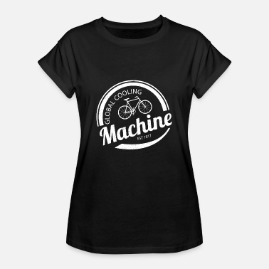 Global Global Cooling Machine - Vrouwen oversize T-shirt