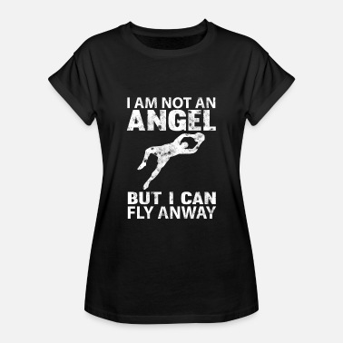 Soccer Goalkeeper Goalkeeper Goalkeeper Soccer No angel flying - Women's Oversize T-Shirt