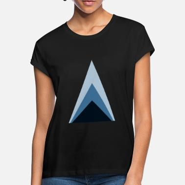 Minimum Triangles minimum - T-shirt oversize Femme