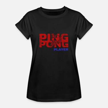 Table Tennis Club table tennis - Women's Oversize T-Shirt