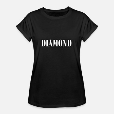 Diamond Supply Diamond - Frauen Oversize T-Shirt