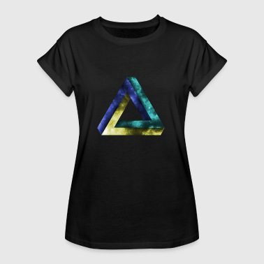 Optical illusion illusion - Women's Oversize T-Shirt