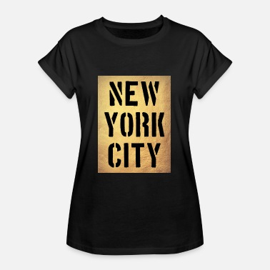 Ny New York City - NY - Manhattan - NYC - Brooklyn - Vrouwen oversize T-shirt
