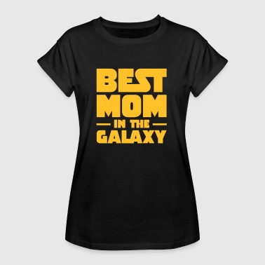 Best Mom In The Galaxy - Women's Oversize T-Shirt
