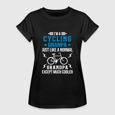 Cycling Opa Cycling Grandpa - Frauen Oversize T-Shirt