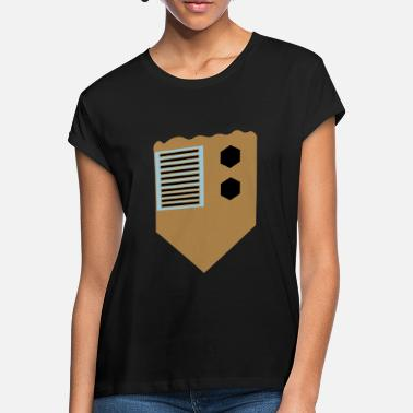 Bronze bronze badge - Oversize T-shirt dame
