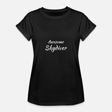 Spoon Sports Awesome Skydiver | Design for parachutists - Women's Oversize T-Shirt