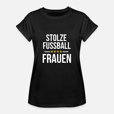 Womens Football Proud football women sport - Women's Oversize T-Shirt