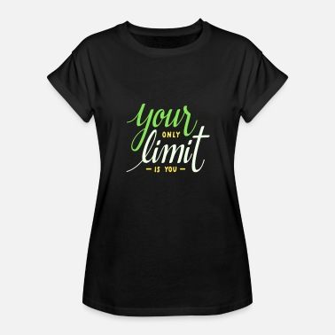 Limit Limit - Frauen Oversize T-Shirt