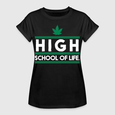 Highschool of Life. - Frauen Oversize T-Shirt