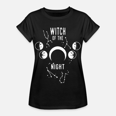 Night Of The Witches Witch of the night - Women's Oversize T-Shirt