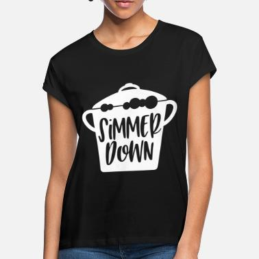 Down With Detroit simmer down poison - Women's Loose Fit T-Shirt