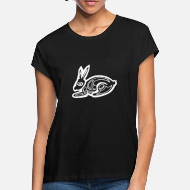 Graphic Art Bunny bunny graphic art - Women's Loose Fit T-Shirt