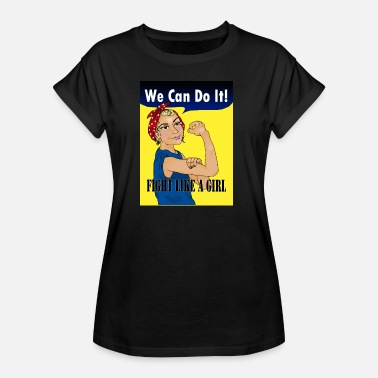 Girl Fight We can do it - Kids too - Camiseta holgada de mujer