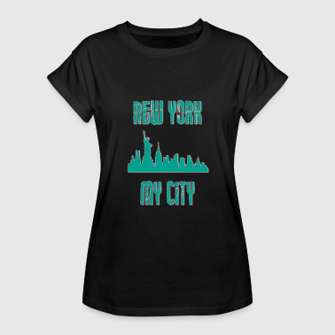 My City New york city My city MY CITY - Women's Oversize T-Shirt