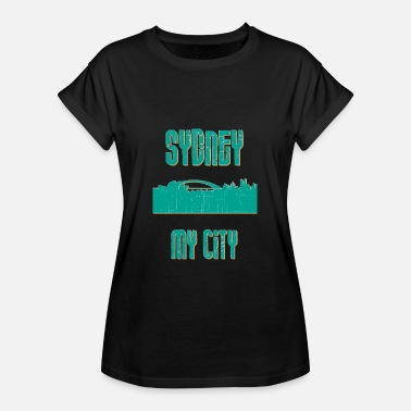 I Love Sydney SYDNEY MY CITY - T-shirt oversize Femme