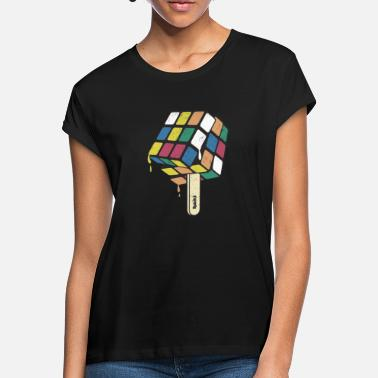 Cube Rubik's Cube Ice Lolly - Women's Loose Fit T-Shirt