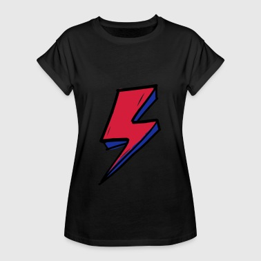 David lightning bolt 1 - Women's Oversize T-Shirt