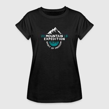 MOUNTAIN EXPECTION - ALPS - Maglietta ampia da donna