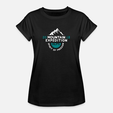 Alps MOUNTAIN EXPECTION - ALPS - Maglietta ampia da donna